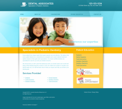 Pediatric Dentistry Website Thumbnail #3