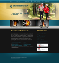 Orthopaedic Website Thumbnail #4
