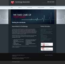 Cardiovascular Website Thumbnail #5