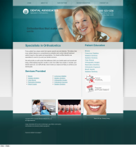 Orthodontics Website Thumbnail #7