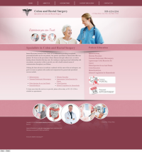 Colon & Rectal Surgery Website Thumbnail #5
