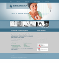Pulmonary Disease Website Thumbnail #1