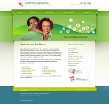 Pediatrics Website Thumbnail #10