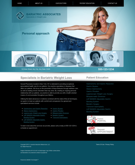 Bariatric Surgery Website Preview #10