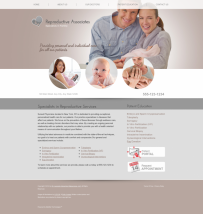 Reproductive Services Website Thumbnail #7