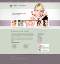 Cosmetic Dentistry Website Thumbnail #7