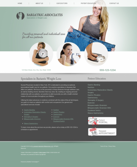 Bariatric Surgery Website Preview #11