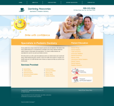 Pediatric Dentistry Website Thumbnail #9