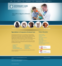 Veterinary Website Thumbnail #5