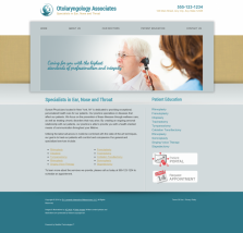 Otolaryngology Website Thumbnail #6