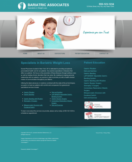 Bariatric Surgery Website Preview #12
