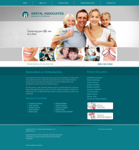Orthodontics Website Thumbnail #9