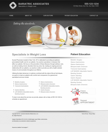 Bariatric Surgery Website Preview #13