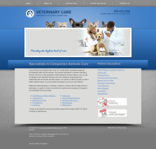 Veterinary Website Thumbnail #10