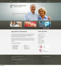 Periodontics Website Thumbnail #9