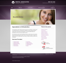 Orthodontics Website Thumbnail #10