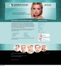 Facial Plastic Surgery Website Thumbnail #7