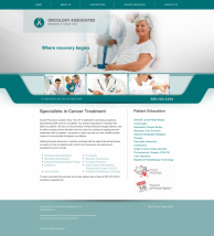 Oncology Website Thumbnail #8