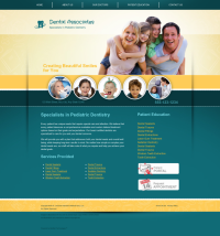 Pediatric Dentistry Website Thumbnail #10