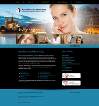 Facial Plastic Surgery Website Thumbnail #9