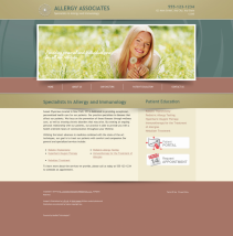Allergy & Immunology Website Thumbnail #3