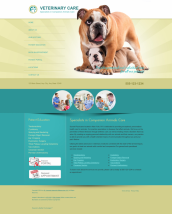 Veterinary Website Thumbnail #6