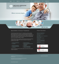 Oncology Website Thumbnail #9