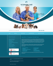 Veterinary Website Thumbnail #13