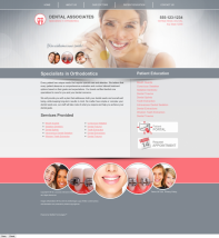 Orthodontics Website Thumbnail #14