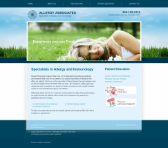 Allergy & Immunology Website Thumbnail #6