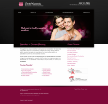 Cosmetic Dentistry Website Thumbnail #10
