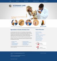 Avian & Exotic Website Thumbnail #7