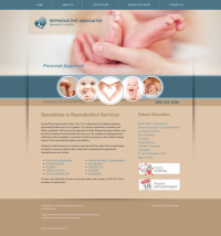 Reproductive Services Website Thumbnail #10