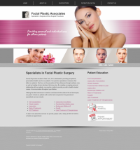 Facial Plastic Surgery Website Thumbnail #10