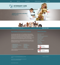 Veterinary Website Thumbnail #4
