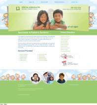 Pediatric Dentistry Website Thumbnail #13