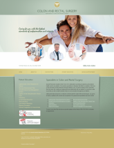 Colon & Rectal Surgery Website Thumbnail #9