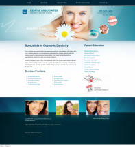 Cosmetic Dentistry Website Thumbnail #11