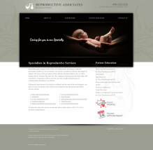 Reproductive Services Website Thumbnail #11