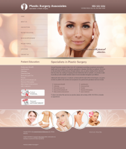 Plastic Surgery Website Thumbnail #10