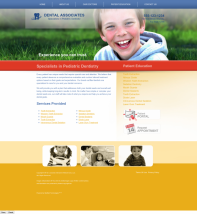 Pediatric Dentistry Website Thumbnail #15