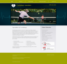 Cardiovascular Website Thumbnail #10