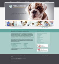 Veterinary Website Thumbnail #7