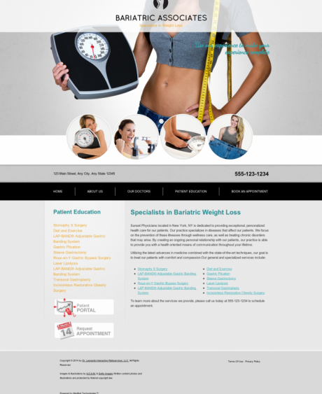 Bariatric Surgery Website Preview #14