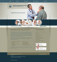 Otolaryngology Website Thumbnail #13