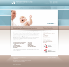 Reproductive Services Website Thumbnail #12