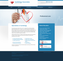 Cardiovascular Website Thumbnail #12