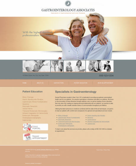 Gastroenterology Website Preview #15