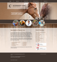 Equine Website Thumbnail #10