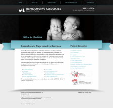 Reproductive Services Website Thumbnail #13